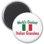 La abuela italiana más fresca imanes