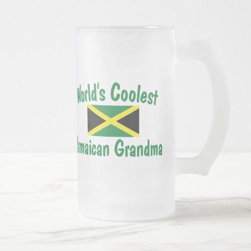 La abuela jamaicana más fresca taza de cristal