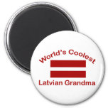 La abuela letona más fresca del mundo imanes