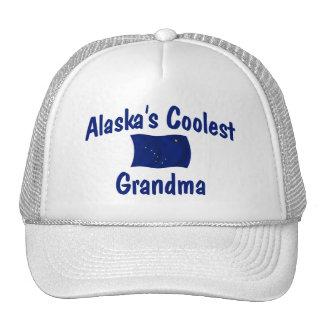 La abuela más fresca de Alaska Gorras