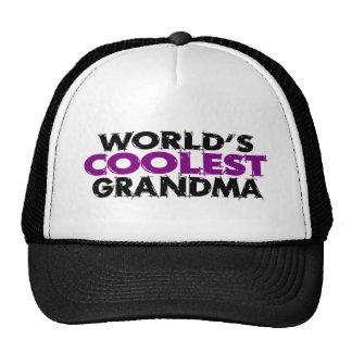 La abuela más fresca de los mundos gorros bordados