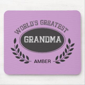 La abuela más grande de los mundos alfombrilla de ratones