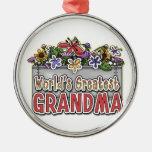 La abuela más grande del mundo ornamento de reyes magos