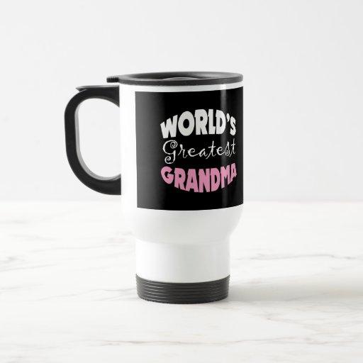 La abuela más grande del mundo taza