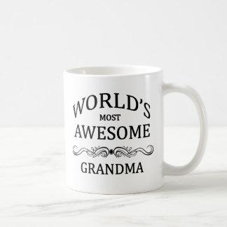 La abuela más impresionante del mundo tazas