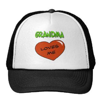 La abuela me ama gorros