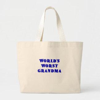La abuela peor de los mundos bolsa