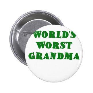 La abuela peor de los mundos pin