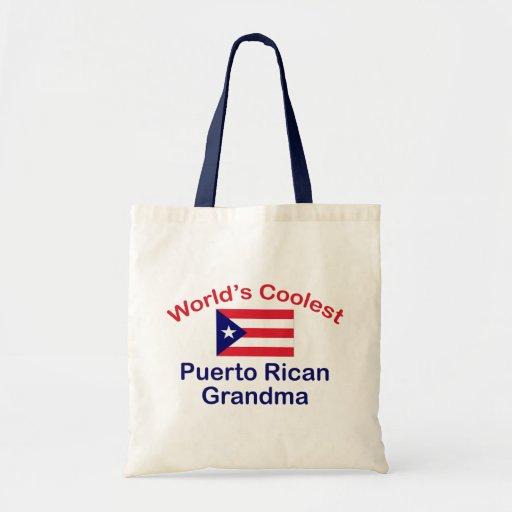La abuela puertorriqueña más fresca bolsas de mano