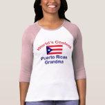 La abuela puertorriqueña más fresca camisetas