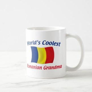 La abuela rumana más fresca taza de café
