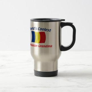 La abuela rumana más fresca taza de viaje