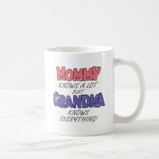 La abuela sabe todo taza