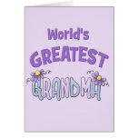 La abuelita más grande felicitación