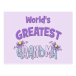 La abuelita más grande postal
