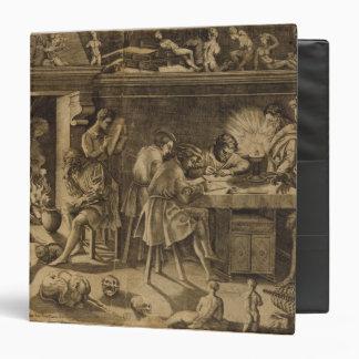"""La academia de Baccio Bandinelli, 1547 Carpeta 1 1/2"""""""