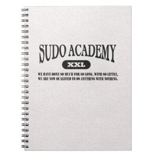 La academia de Sudo hace cualquier cosa cuaderno p