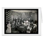 La Academia Naval patrocina la foto 1908 Tarjeta