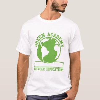 La academia verde recicla playera