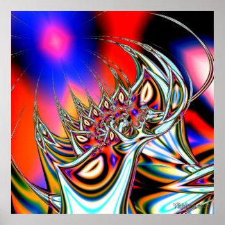 """""""La acción de alucinógenos """" Posters"""