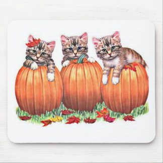 La acción de gracias es el maullido del gato alfombrillas de ratones