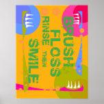 ¡La aclaración de la seda del cepillo, entonces SO Poster