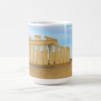La acrópolis de Atenas Taza De Café