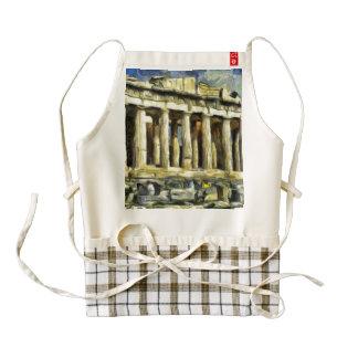 La acrópolis en Atenas Delantal Zazzle HEART