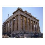 La acrópolis en Atenas, Grecia Postales