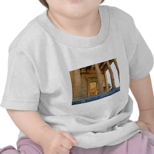 La acrópolis y el Parthenon - Atenas Camiseta