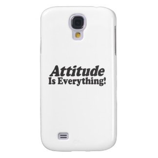 ¡La actitud es todo! Carcasa Para Galaxy S4