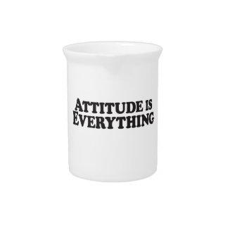 La actitud es todo - los productos de Mutiple Jarron