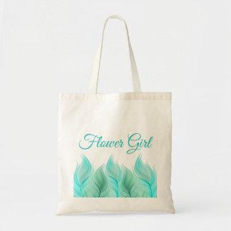 La acuarela empluma al florista bolsa tela barata
