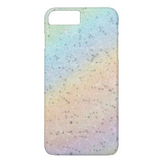 La acuarela en colores pastel del arco iris funda iPhone 7 plus