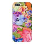 La acuarela florece el iPhone 5 iPhone 5 Funda