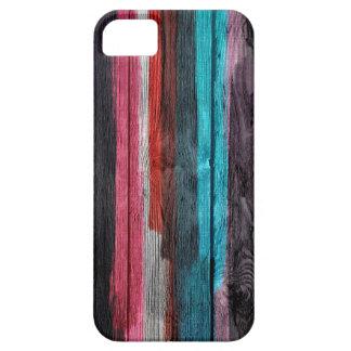 La acuarela multicolora abstracta raya el modelo iPhone 5 cárcasa