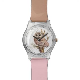 La acuarela vio para amolar arte de la naturaleza reloj
