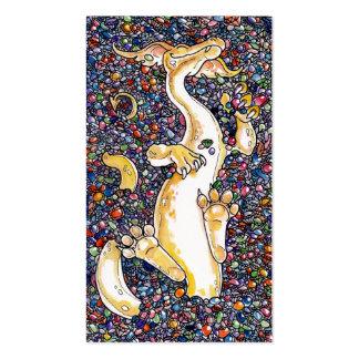 La acumulación del dragón plantilla de tarjeta personal