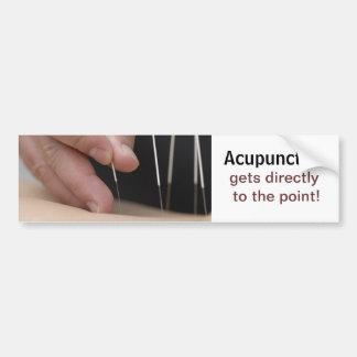 ¡La acupuntura consigue al punto! Pegatina Para Auto