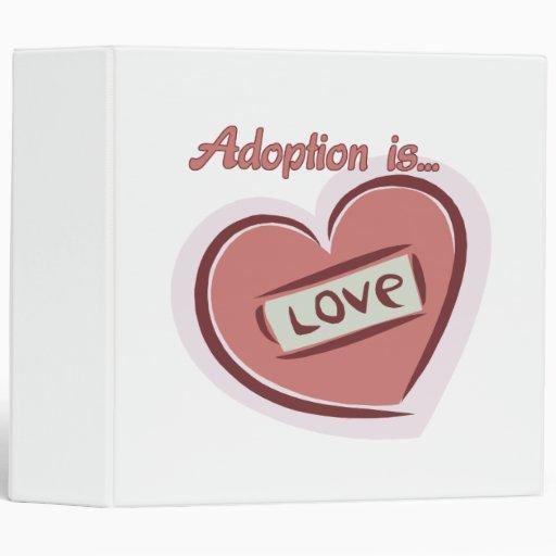 La adopción es amor