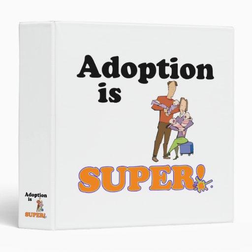 la adopción es estupenda
