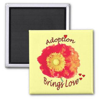 La adopción trae el imán del amor