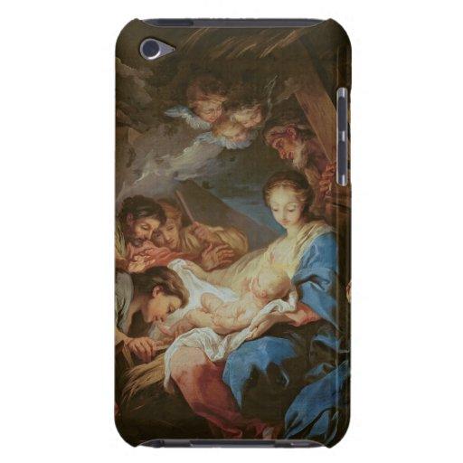 La adoración de los pastores (aceite en lona) 2 Case-Mate iPod touch fundas
