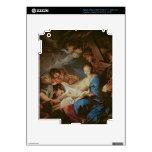 La adoración de los pastores (aceite en lona) 2 iPad 3 pegatina skin