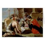 La adoración de los pastores, c.1638 tarjeta de felicitación