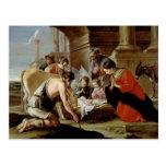 La adoración de los pastores, c.1638 tarjetas postales