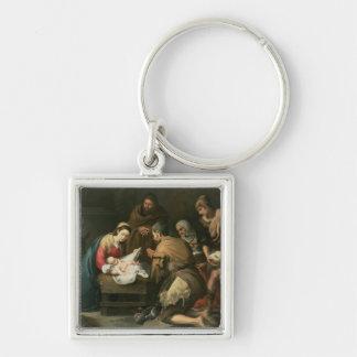 La adoración de los pastores, c.1650 llavero