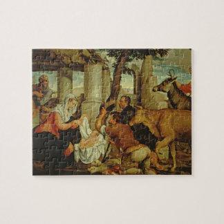 La adoración de los pastores puzzle