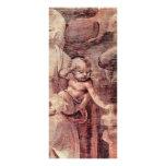 La adoración de los tres reyes Detail By Leonard Diseño De Tarjeta Publicitaria