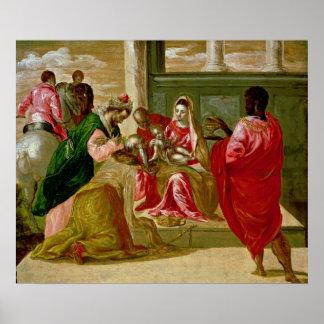 La adoración de unos de los reyes magos 1567-70 posters